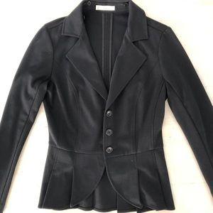 Hinge Blazer in Black XS
